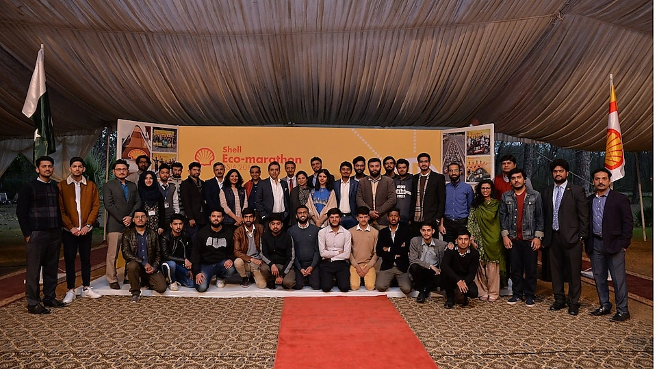 Whole North pakistani University students with shell officials