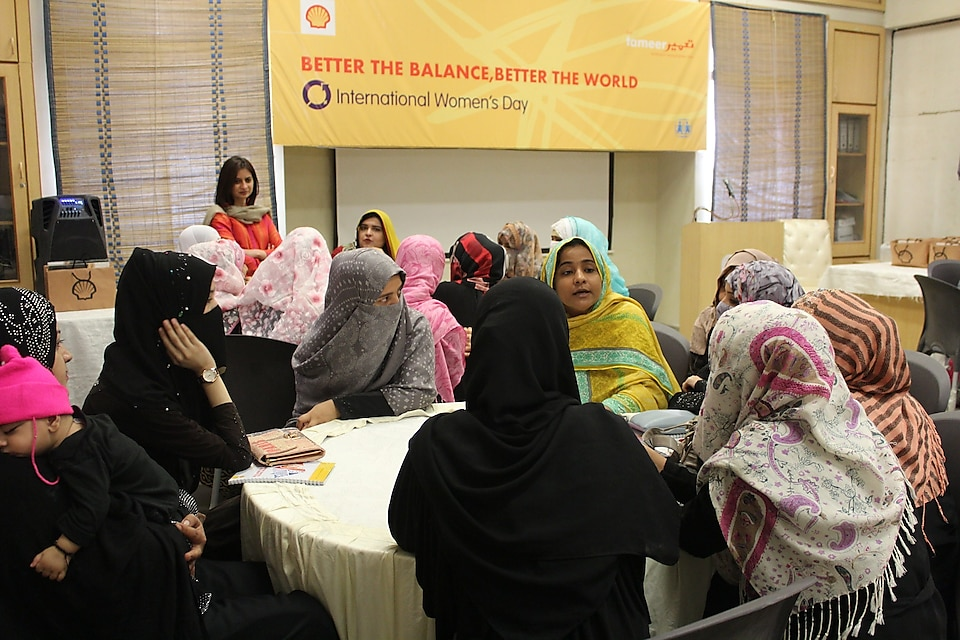 Shell Tameer in collaboration with SOSTTI hosted mentoring circles